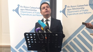 Stephen Kinsella tells Brian Finn that Finance Minister Paschal Donohoe is confident abut today's Exchequer figures