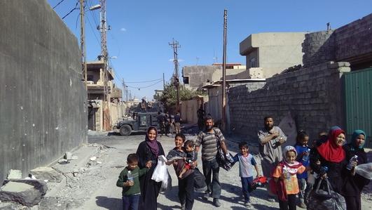 Fergal Keane in Iraq