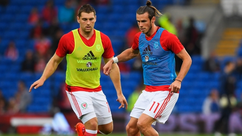 Vokes (L) believes Wales can get by without Gareth Bale