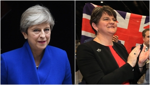 Theresa May needs the support of Arlene Foster's DUP party for a majority in parliament