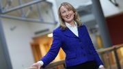 Glanbia boss Siobhán Talbot said the outlook for 2018 is positive