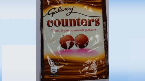 Galaxy bars, Maltesers Teasers and bags of Counters are among the products being recalled