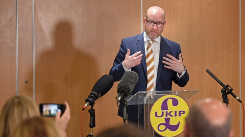 Paul Nuttall resigned as UKIP leader in June 2017