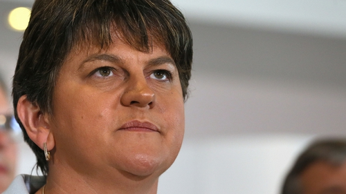 Arlene Foster is due to address a DUP meeting in Belfast on Thursday
