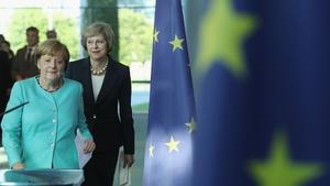 Angela Merkel said she assumes the UK is sticking to its negotiating plan