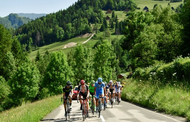 Porte consolidates Dauphine lead as Kennaugh wins Alpe d'Huez stage