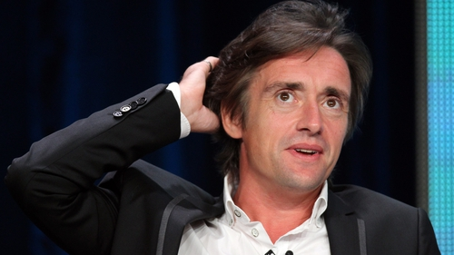 Richard Hammond: mild disapproval from wife following serious car flip.