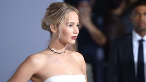 Jennifer Lawrence unhurt after the plane she was travelling on was forced to make an emergency landing