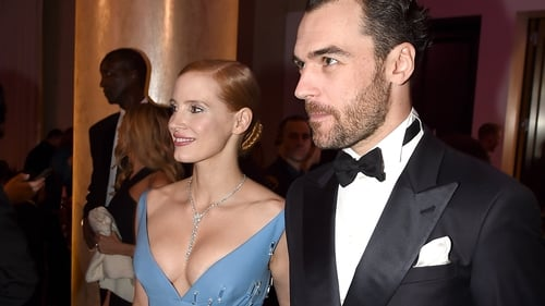 Jessica Chastain and Gian Luca Passi de Preposulo have been together for five years