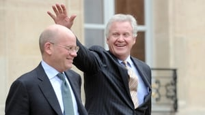 General Electric's John Flannery and Jeff Immelt