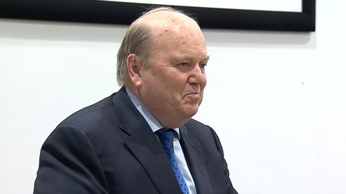 Michael Noonan says he believes he is leaving the job with the country in good shape