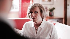 Jacqueline King as Theresa May in Theresa Vs Boris: How May Became PM