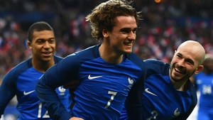 Antoine Griezmann had a goal ruled out for offside by the VAR when France played Spain