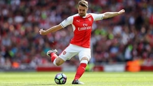 Aaron Ramsey is relieved that Arsene Wenger's contract has been resolved