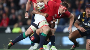 Lions' CJ Stander on the attack