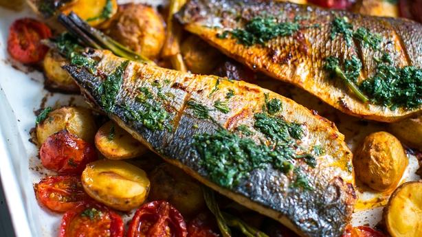 Harissa Baked Fish