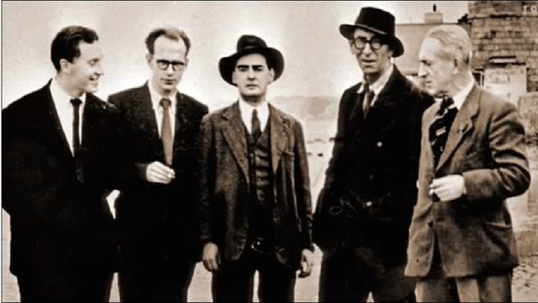 The original Bloomsday crew, circa 1954 - how many can you name? (See the answer below)