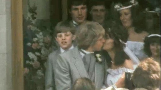 John Devine and Michelle Rocca Marry (1982)