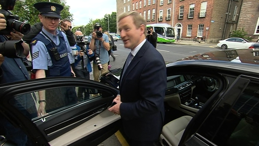 Enda Kenny European Of The Year