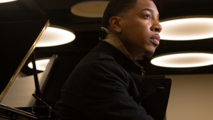 Piano man Christian Sands - lots of different colours in the (jazz paint) master class that is Reach.