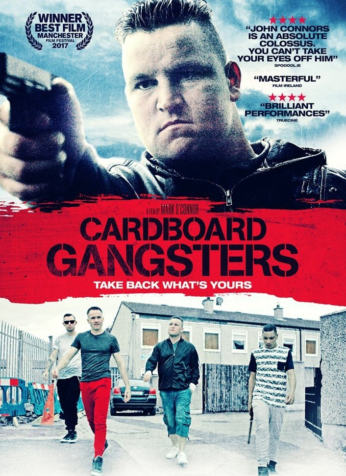 """Director and star of """"Cardboard Gangsters"""""""
