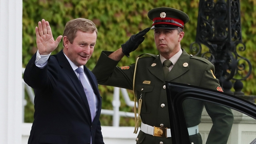 Enda Kenny has formally resigned as Taoiseach after six years as head of Government