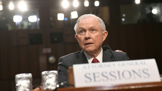 Trump says Sessions acted unfairly by taking AG job