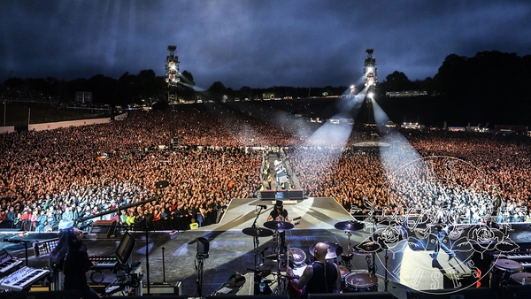 Guns N' Roses at Slane Photo copyright: Guns N' Roses