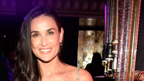 Demi Moore lost her front teeth to stress