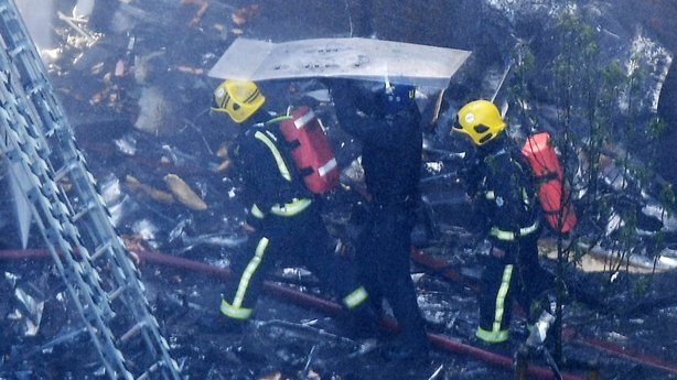 Multiple people dead in massive blaze in London