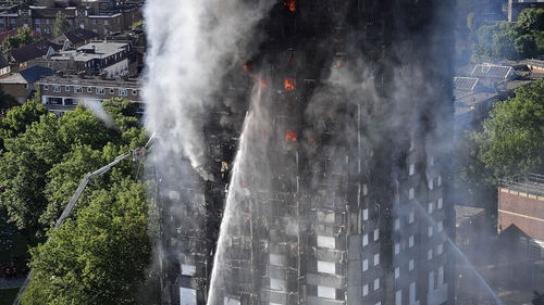 Government to consider banning flammable cladding in wake of Grenfell fire