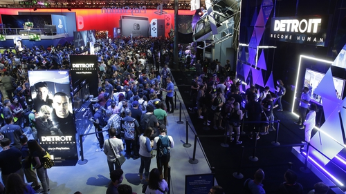 """Richard Windsor said games aimed at smartphone and tablet users are a """"glaring omission"""" on the E3 convention floor"""