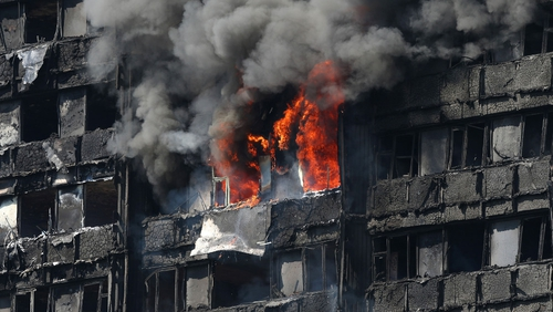 71 people died in the fire at Grenfell Tower in London last June