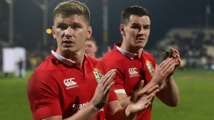 Owen Farrell and Johnny Sexton remain in fierce competition for the number 10 jersey