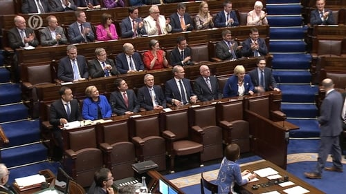 The new Cabinet in the Dáil