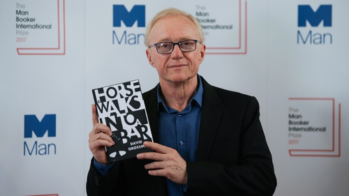 Novel about tragic comedian claims Man Booker Prize
