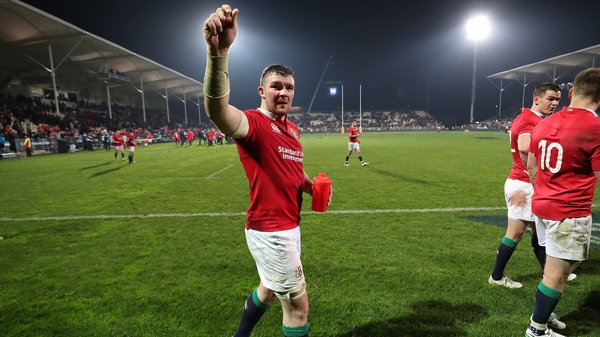 Peter O'Mahony will be joined in the backrow by Sean O'Brien and Toby Faletau