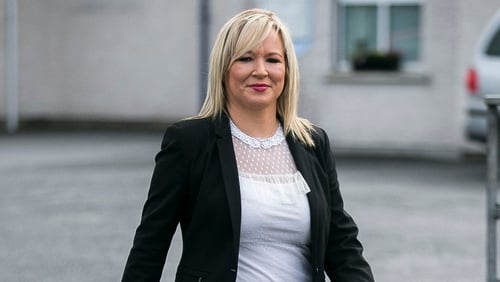 Michelle O'Neill said Brexit exposed partition as being undemocratic
