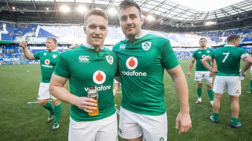 Rory and Niall Scannell will both start against Japan in Shizuoka