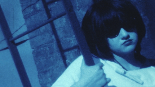 Pictured: Vivienne Dick, Lydia Lunch, Production still from Guérrillere Talks, 1978, Super 8/Video © Vivienne Dick.