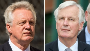 UK Brexit Secretary David Davis and EC chief negotiator Michel Barnier released joint statement