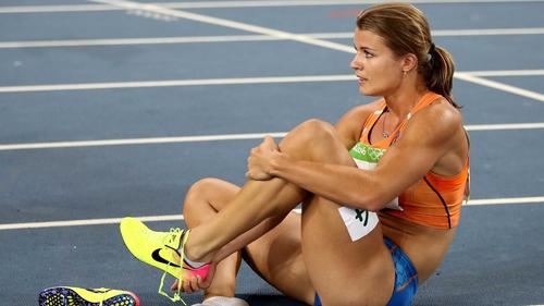 Dutch athlete Dafne Schippers