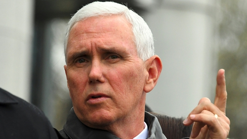 Mike Pence made the decision after several weeks of deliberations
