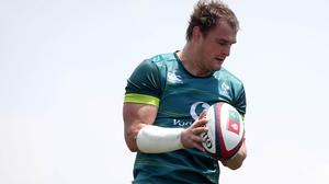Rhys Ruddock will captain Ireland against Japan