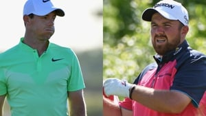 Rory McIlroy and Shane Lowry had vastly different starts at Erin Hills