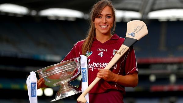 Galway captain Heather Cooney