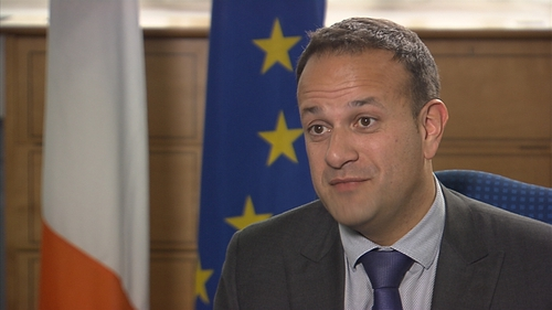 Taoiseach Leo Varadkar was speaking on RTÉ's Six One after talks with Sinn Féin and the DUP at Government Buildings