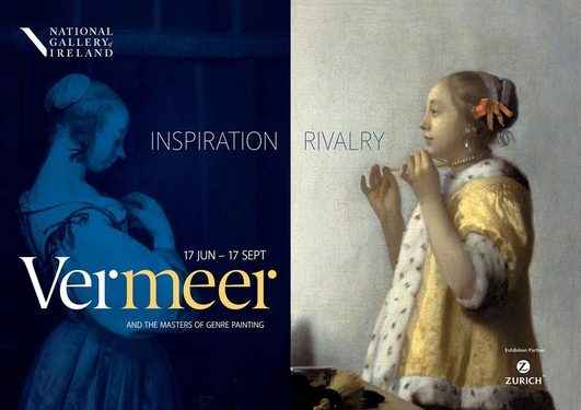 """Preview:  """"Vermeer and the Masters of Genre Painting: Inspiration and Rivalry"""" at the National Gallery"""
