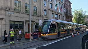 It is expected the Luas Cross City project will create up to 10 million extra trips annually