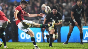 Conor Murray was on the receiving end of some poor tackles for New Zealand
